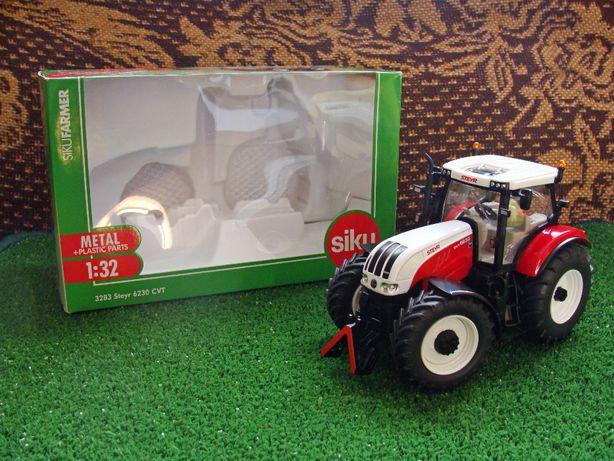 Siku Traktor Steyr CVT 6230 skala OKAZJA!!! 1:32 (opis)
