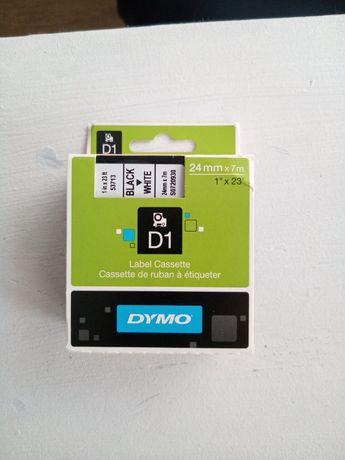 Taśmy drukarki Dymo D1 24mm x 7m
