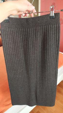 Шерстяная юбка С