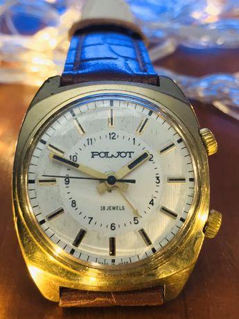 Наручные часы «Полёт» made in USSR с будильником