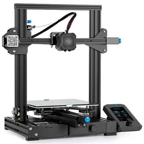Creality Ender 3 V2 Pro, 3D принтер, Новый, Гарантия(в наличии)