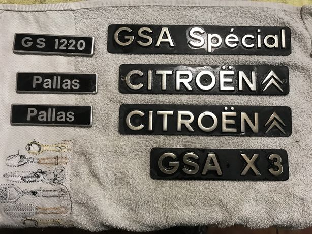 Placas citroen Gs/Gsa