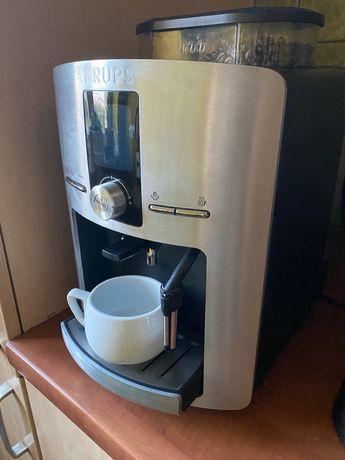 Ekspres do kawy Krups + kawa + tabletki do czyszczenia
