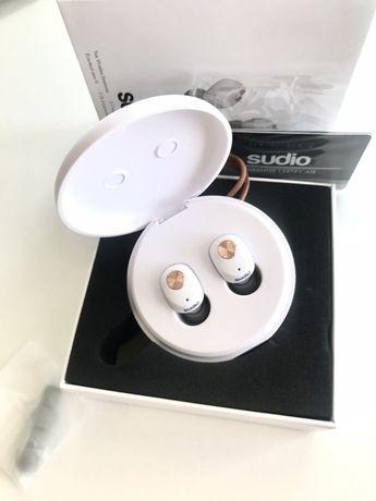 STUDIO NIVA białe słuchawki bezprzewodowe NOWE Bluetooth ##AirPods##