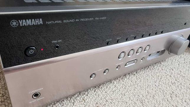 Ресивер Yamaha RX-V483 ака RX-V485, 4K Ultra HD, HDR, Wi-Fi, Bluetooth