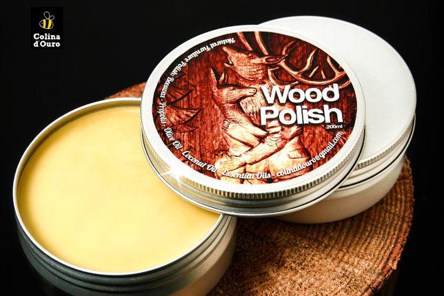 Creme para Madeiras – Cera de abelha - Wood Polish – The Hungry Deer