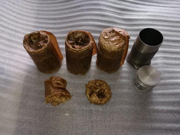 Полный комплект гильзы поршня кольца пальцы для Ford fiesta 1.25
