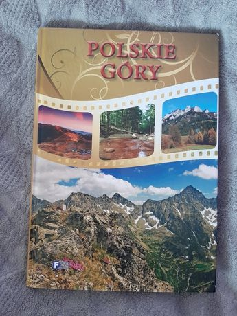 Polskie góry- książka ze zdjęciami