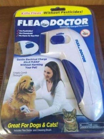 Расчёска для уничтожения и вычёсывания блох и клещей у  животных