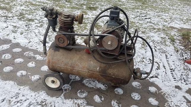 Kompresor Robiony Solidny ! Silnik 2.2kw 380v Sprawny