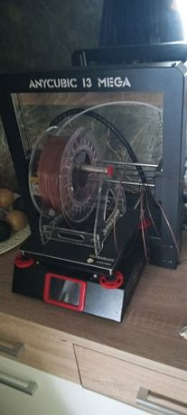 Drukarka 3D Anycubic I3 MEGA plus 4 kg Filamentów Nowe ciche silniki