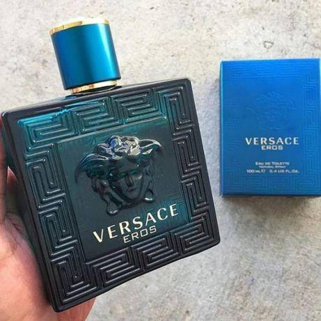 Versace Eros 100 ml (Версаче Эрос ) Мужские духи. 2=3, 3=6. Наложка!