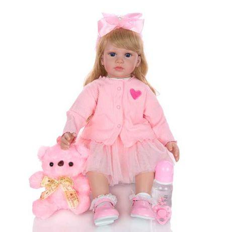 Красивая Кукла Реборн Keiumi Девочка Высота 60 cм