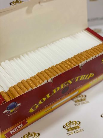 Гильзы для сигарет, для табака, сигаретні гільзи GOLDEN TRIP 500 1 ящ