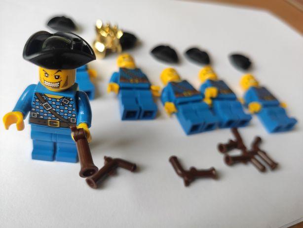 6 nowych figurek piratów / klocki