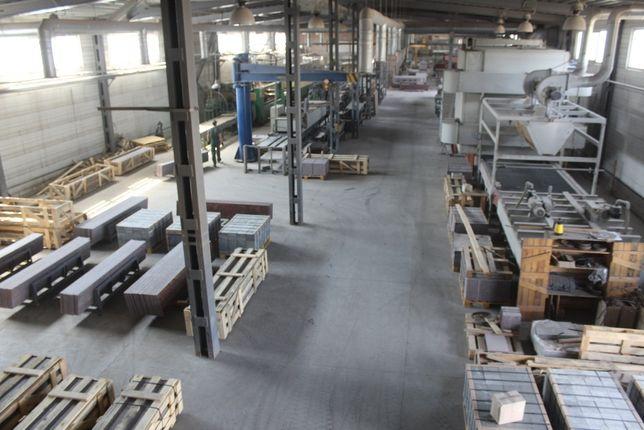 Продается завод по камнеобработке
