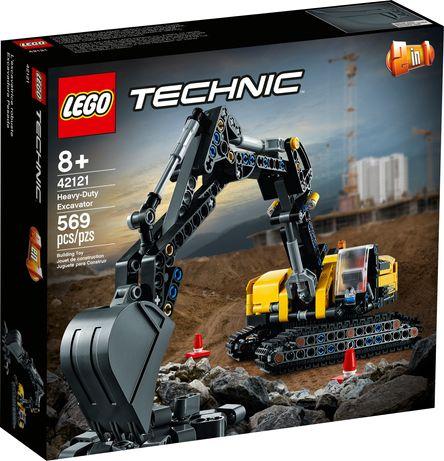 Lego Technic 42121 Wytrzymała koparka +8 Nowość marzec 2021 Wys24