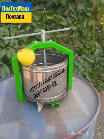 пресс для сока яблок 6 литров