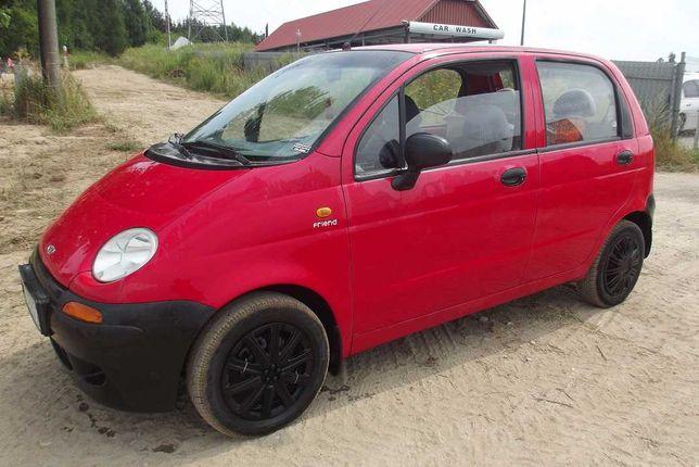 Daewoo Matiz Tanie auto do pracy, długie opłaty