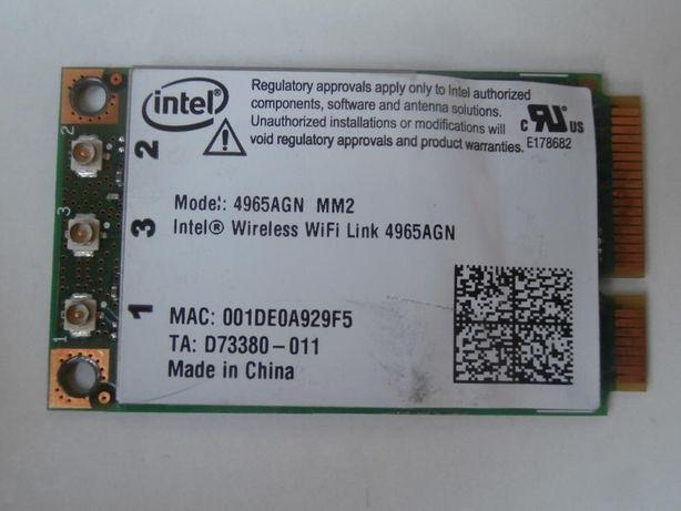 HP Pavilion DV9700 - Placa Wireless WiFi Intel 4965AGN MM2