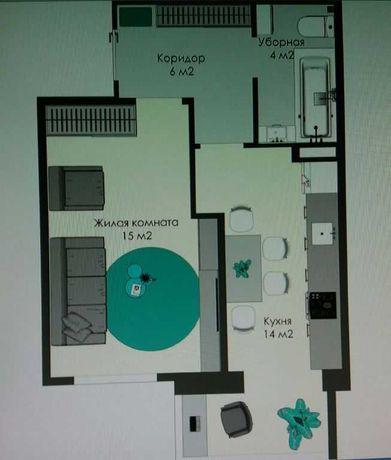 Квартира в новом кирпичном доме по улице Сахарова