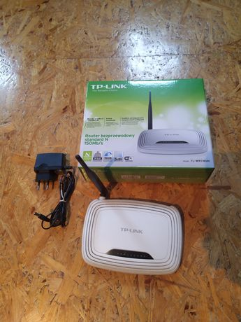 Router bezprzewodowy STANDARD N 150Mb/s TP-LINK TL-WR740N