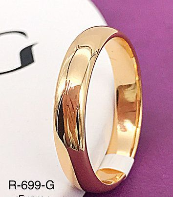 Обручальное Колечко Позолота 18К Обручальное кольцо