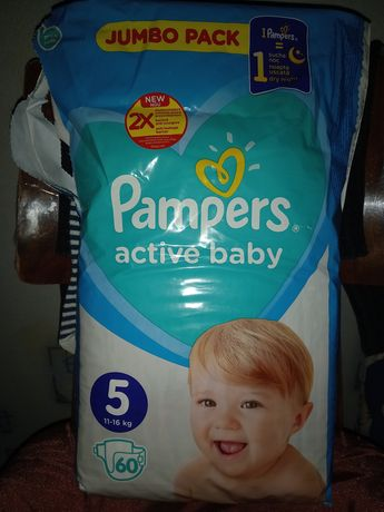 Pampers active baby 5 - 40 шт