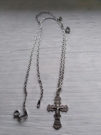 Хрестик з цепочкою