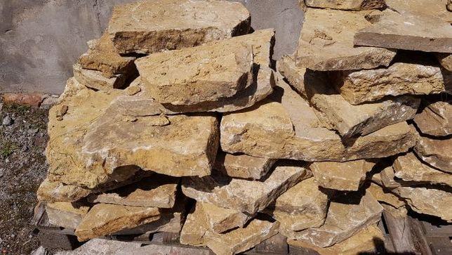 Kamień piaskowy żółty płytka chodnikowa