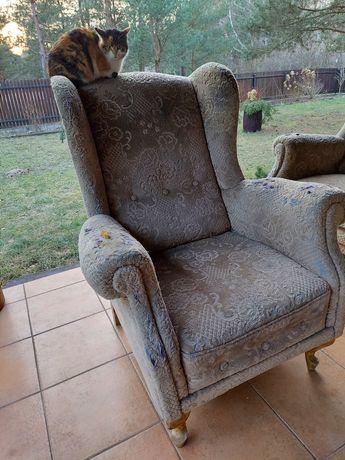 kanapa rozkładana ,sofa ,dwa fotele