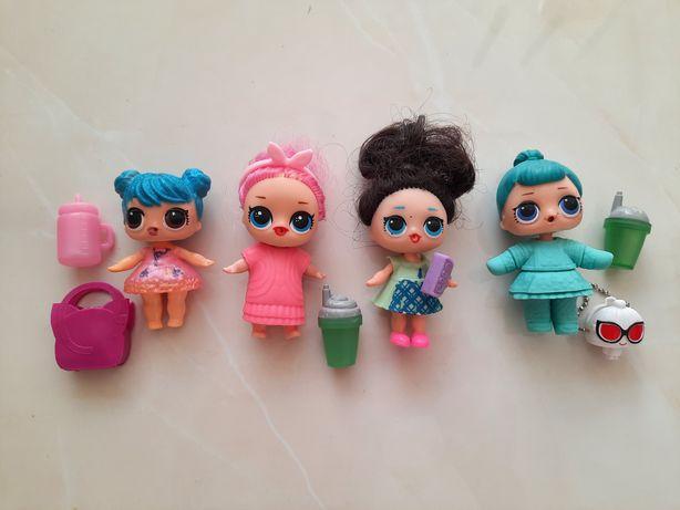 Куклы ЛОЛ (4 шт за 180 грн)