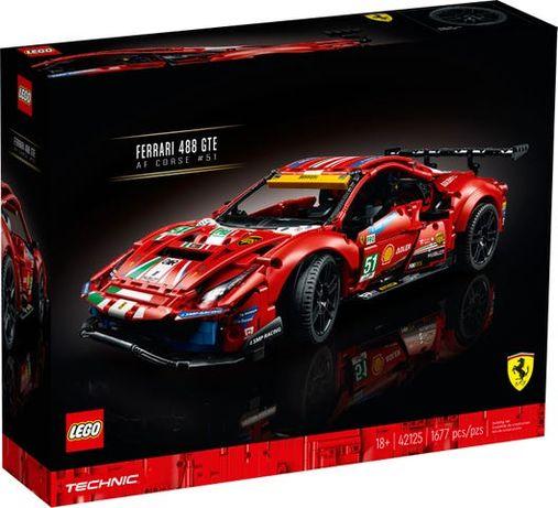 LEGO Technic 42125 Ferrari 488 GTE - NOVO