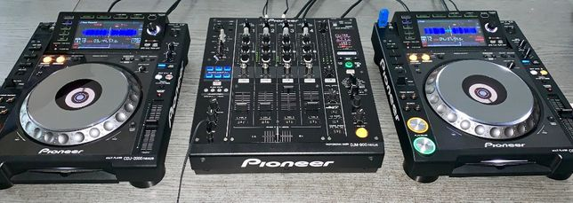 Wynajem Sprzętu DJ 4x CDJ2000 Mikser Pioneer DJM900 Nxs Nexus Wrocław