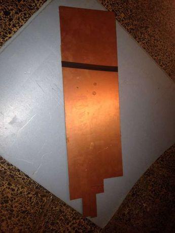 Placa de circuito impresso virgem (PVC)