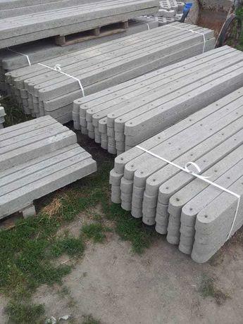 Słupki ogrodzeniowe/ betonowe/ do sadu /malin/Siatka leśna/ montaż