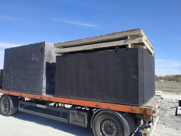 Szambo betonowe 4m3 szamba 5,6,8,10,12 zbiornik na deszczówkę 9 11 3 2