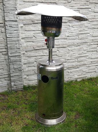ogrzewacz ogrodowy nierdzewny gazowy inox , wysokość 230 cm