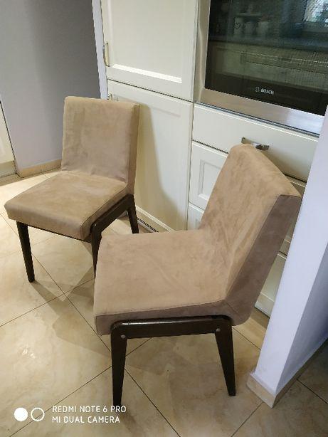 Krzesła AGA Chierowski retro PRL-po renowacji .