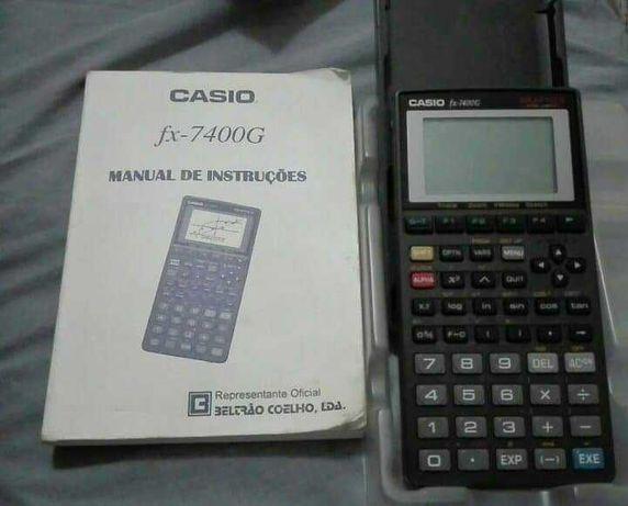 Máquina calcular científica gráfica Casio