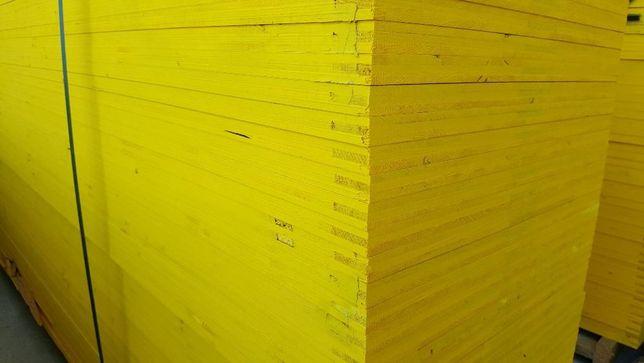 Sklejka,płyta trójwarstwowa 21x500x2000 nieokuwana