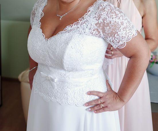 Suknia Ślubna 44-48SPRZEDAM