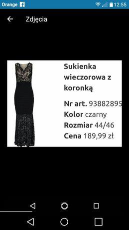 Cudna sukienka sylwestrowa xl.