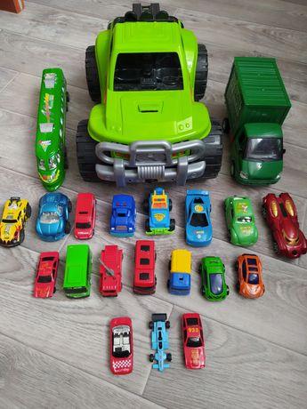 Набор  машин. Большие и маленькие машинки. Всего 21 машинка