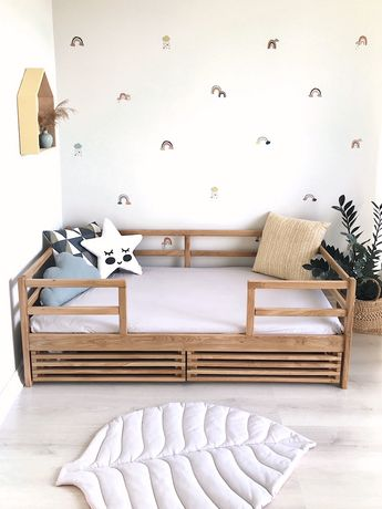 В НАЛИЧИИ! Дубовая детская кровать,кроватка,дитяче ліжко 160*80/190*80