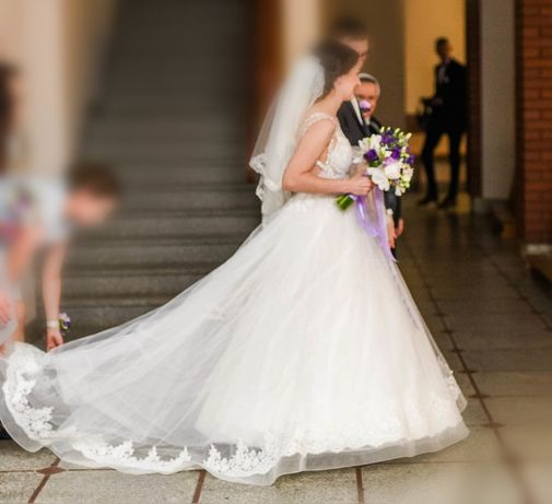 Suknia ślubna  do sesji Zary Lorenzo Rossi