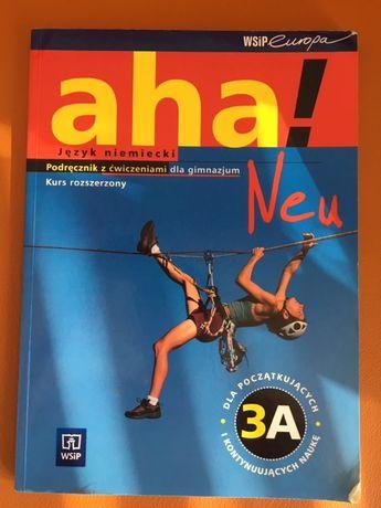 AHA ! 3A kurs rozszerzony- język niemiecki