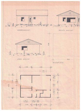 Dom całoroczny drewniany 48m2