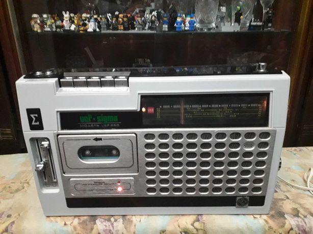 Магнитола VEF Sigma 260 ВЭФ 88-108МГЦ