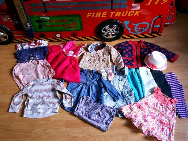 MEGA PAKA dla dziewczynki 2-3 lata! ZARA/H&M/CoolClub/Next !